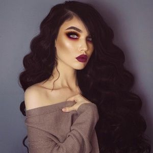 "24"" DARK BROWN BODY WAVE Lace Front Wig *NWT*💖"